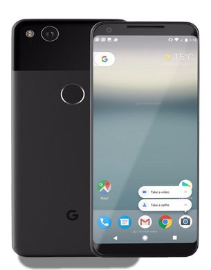 Google Pixel 2 Just Black/Clearly White 64gb; Google; SP0161; Смартфоны GOOGLE