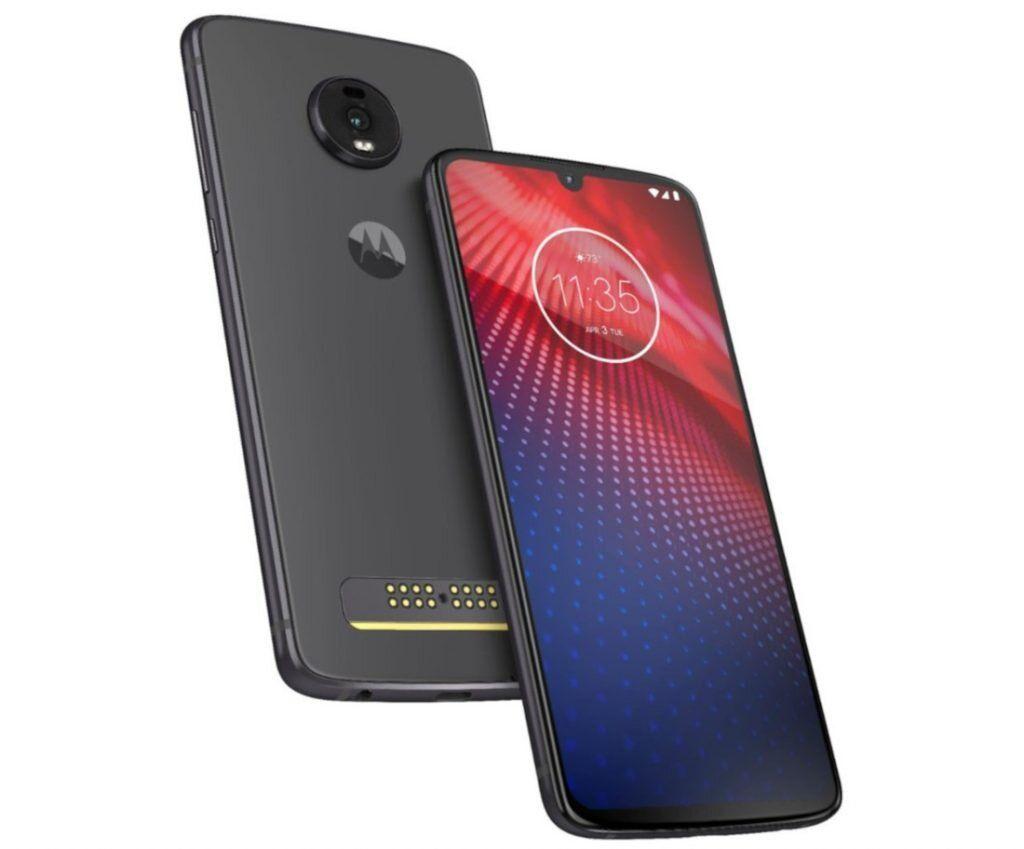 Что представляет собой Motorola Moto Z4?