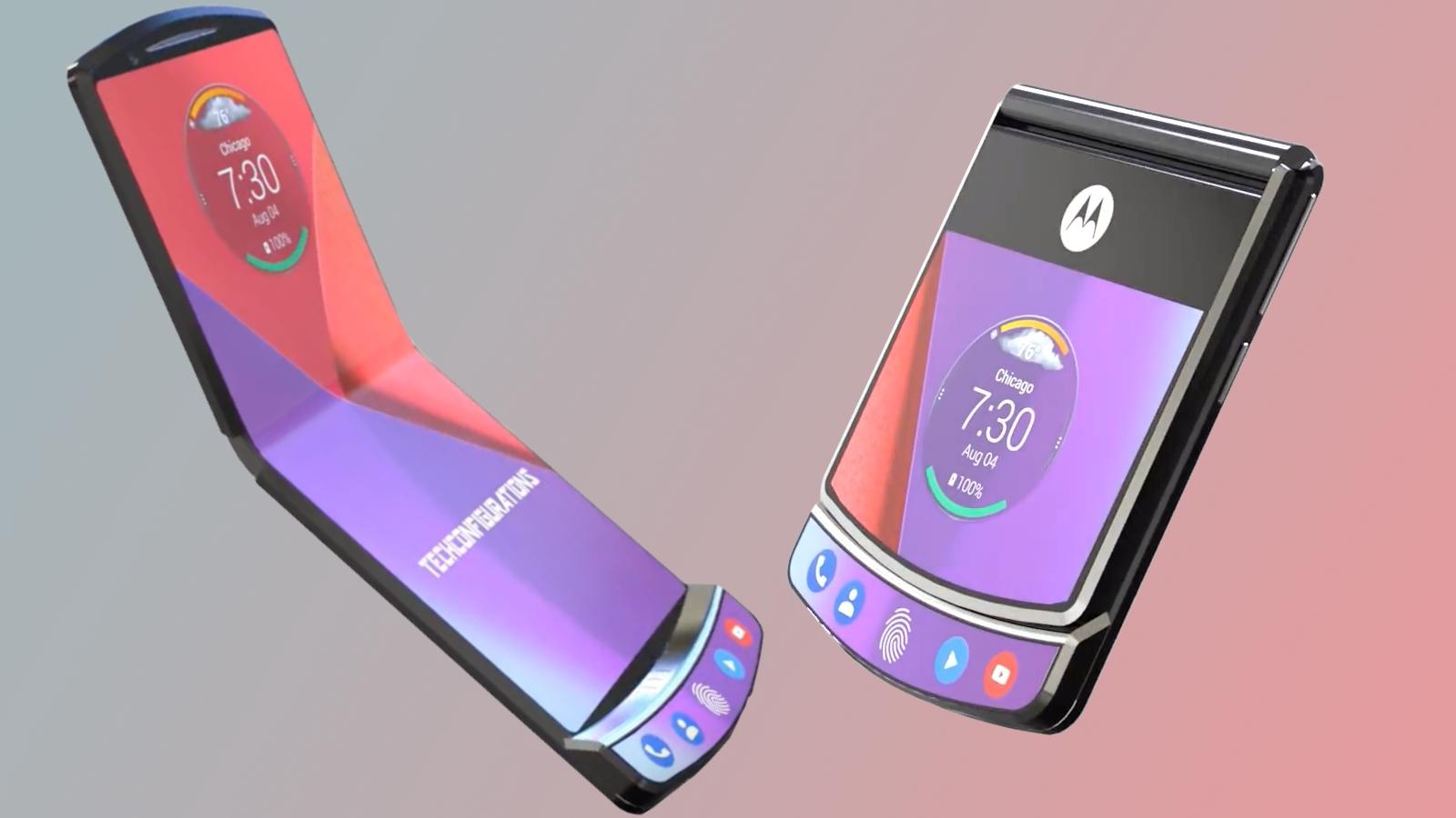 Xiaomi запатентовала гибкий смартфон-раскладушку, похожий на Motorola Razr