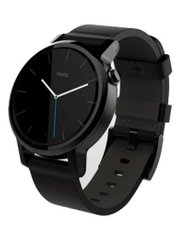 Motorola Moto 360 2nd Gen 42mm Black Leather; Motorola; SP0409; Умные часы Motorola