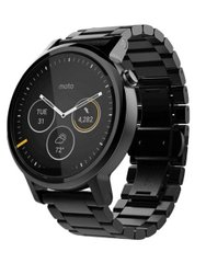 Motorola Moto 360 2nd Gen 46mm Black Steel; Motorola; SP0412; Умные часы Motorola
